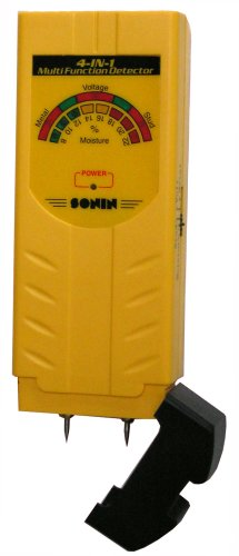 Sonin 50215 4-in-1 Stud, Moisture, Metal and Voltage Detector by Sonin