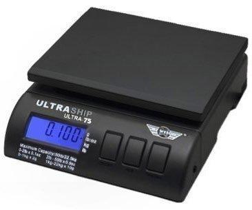 My Weigh Ultraship 75 Lb Electronic Digital Shipping Postal Kitchen Scale  (ultra-75)