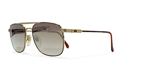 Valentino V429 962 Gold Vintage Sunglasses Aviator For - Valentino Aviators