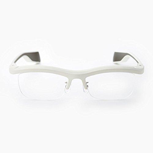 Namae-Megane Inc. FUN'IKI Glasses (White/Gray)