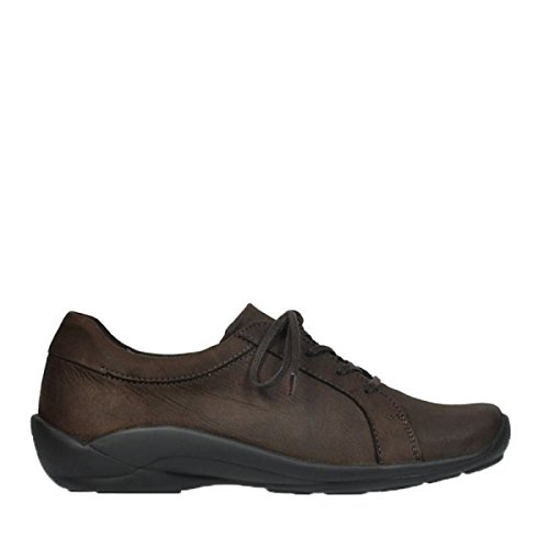 en 50300 Wolky lacets brown Confort Molly à leather Chaussures q7qwI1Pxg