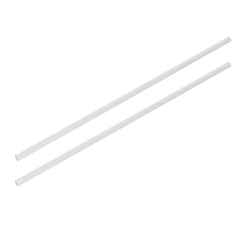5mm Rod (uxcell 5mm Dia 10 Inch Long Solid Acrylic Round Rod PMMA Bar Clear 2pcs)