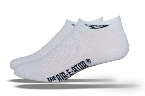 DEFEET Speede Socks,White,Medium