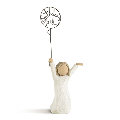- Willow Tree Birthday Girl, sculpted hand-painted figure