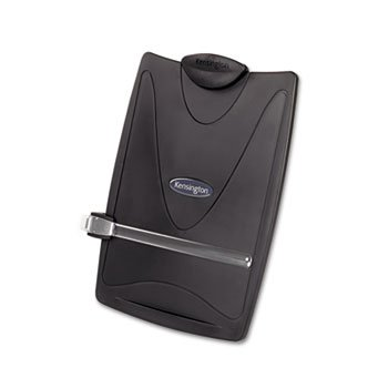 - Kensington Insight Plus Easel Desktop Copyholder, 50 Sheet Capacity, Graphite (KMW62411)