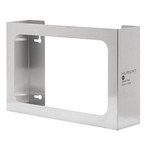 """HUBERT Disposable Glove Dispenser Stainless Steel 3-Box - 15 3/4 L x 3 3/4 D x 10"""" H"""