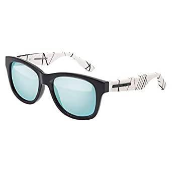 MCQ Rectangle Unisex Sunglasses - MQ0012S 006-53-18-140mm