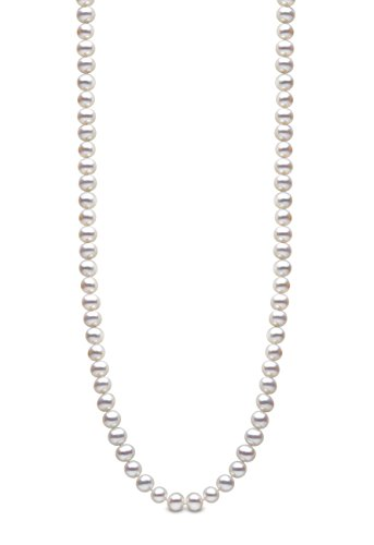 Kimura Pearls Femme  925  Argent|#Silver Rond  Perle d'eau douce chinoise Blanc Perle