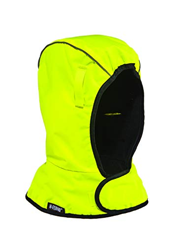 N-Ferno 6842 Hard Hat Winter Liner, Hi Vis, Thermal Fleece Lined