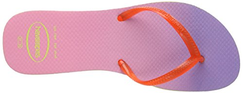 Havaianas Lime Green para Strawberry Sandalias mujer Flat Sunset XqBXr