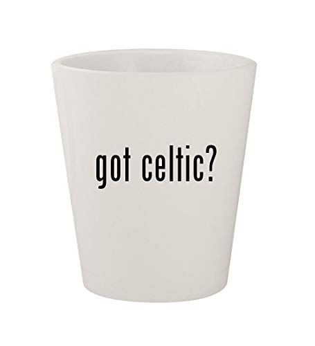 - got celtic? - Ceramic White 1.5oz Shot Glass