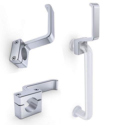 Aluminum LePortier Hands Free Door Opener for Tubular Handles Model B
