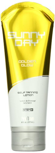 Performance Brands Sunny Day Golden Glow Self Tanning Lotion, 8-ounce tube by Performance