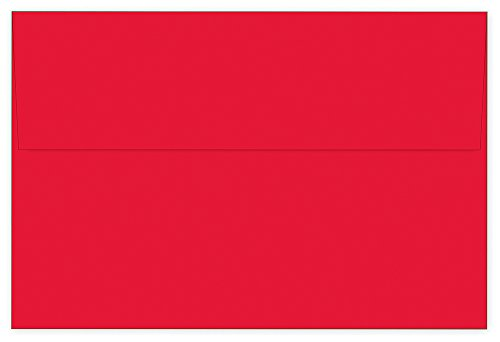 "Great Papers! Bright Red Solid Envelope, 25 Count, 6"" x 9"" (980022)"