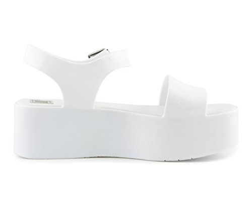 Colors Of California Jelly Wedge Sandal HC.J008-S17 WHT White