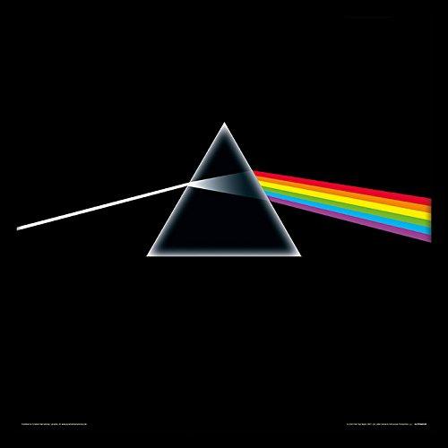 Pink Floyd Dark Side of The Moon Framed Classic Album Manica Memorabilia,, 30,5cm Pyramid International ACPPR48139