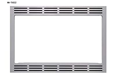 "Panasonic 27"" Microwave Trim Kit for Panasonic 2.2 cu ft Microwave Ovens - NN-TK922SS (Stainless Steel)"