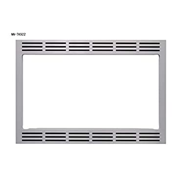Panasonic 27 Microwave Trim Kit for Panasonic 2.2 cu ft Microwave Ovens NN-TK922SS (Stainless Steel)