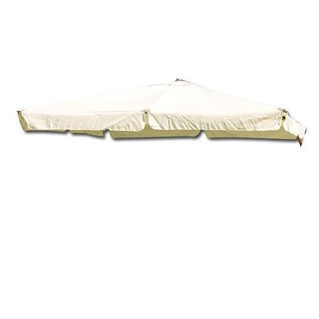 Ombrellone Indo Lusso.Telo Di Ricambio Per Ombrellone Indo Lusso 300 X 300 Amazon