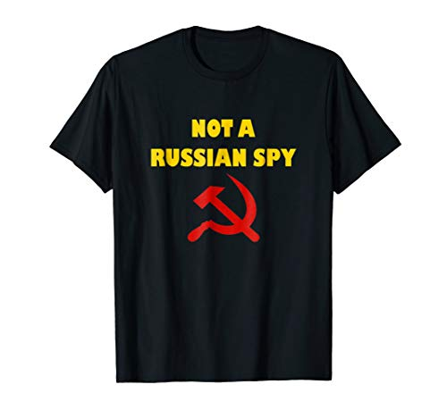 Totally Not A Russian Spy Halloween Costume Funny T-shirt ()