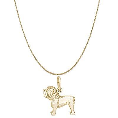 Rembrandt-Charms-14K-Yellow-Gold-Bulldog-Charm-on-a-16-18-or-20-inch-Rope-Box-or-Curb-Chain-Necklace