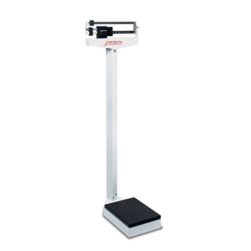 Detecto 437 Balance Beam Doctor/Physician Scale, 400 lbs, Made in USA with USA & Imported Components by Detecto (Detecto Balance Scale Beam)