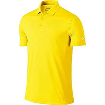 Golf Victory Solid Polo (Yellow Strike/White) 2XL