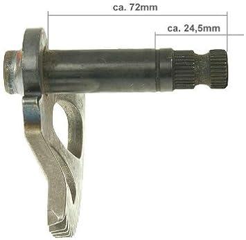 Kickstarterwelle 72mm 24mm Für Sachs Sx1 Auto