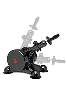 KINK By Doc Johnson - Fucking Machines - Power Banger - Compatible with all Vac-U-Lock Dildos - Powerful Multi-Speed Thrusts - Suction Cup Feet - Black (B01M4RG2GK) | Amazon price tracker / tracking, Amazon price history charts, Amazon price watches, Amazon price drop alerts