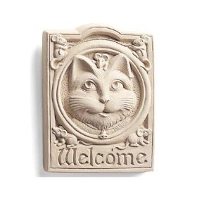 Bell Welcome Plaque (Welcome Cat Wall Plaque)