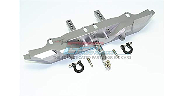 1Pr Set Gray Silver Traxxas TRX-4 Trail Defender Crawler Upgrade Parts Aluminum Front Knuckle Arms With Outer Portal Case