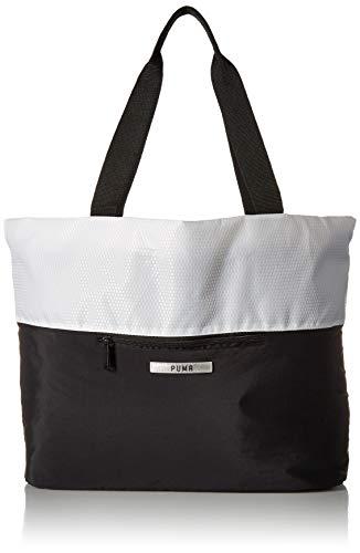 PUMA Unisex-Adult's Uniform Tote, White, One Size (Handbag Puma White)