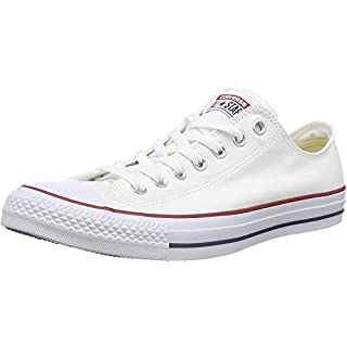 Converse Unisex Chuck Taylor All Star Low Top Sneaker (6 B(M) US Women / 4 D(M) US Men Optical White