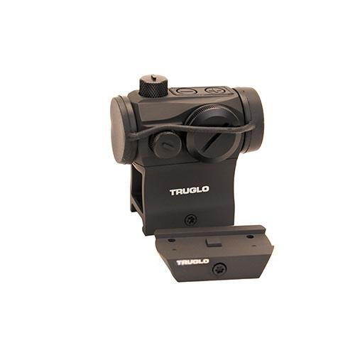 TRUGLO Tru-Tec Tactical 20mm Red-Dot Sight Black by Truglo