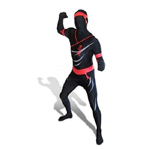Morphsuits Men's Premium US New, Ninja, Large -