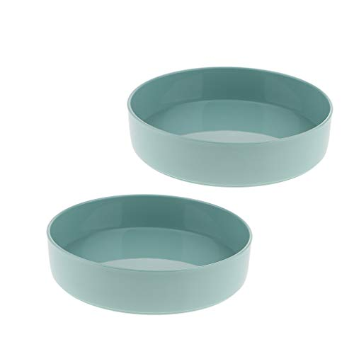 - Fenteer 2 Pack Green Dia.13 inch Classic Suiban Vase Pot Tray Container for Ikebana Flower Arrangements