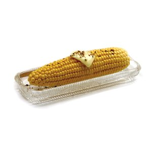 UPC 028901054113, Norpro Glass Corn Dishes - Set of 4