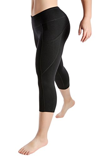 Womens WOD Capris Compression Pants Yoga Leggings Workout