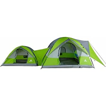 ConnecTENT 8 Person 2 Dome Tent by Ozark Trails  sc 1 st  Amazon.com & Amazon.com : ConnecTENT 8 Person 2 Dome Tent by Ozark Trails ...