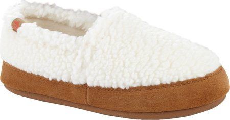 Textured Moc (ACORN Women's Acorn Moc Slipper, Buff Popcorn, Large/8-9 M)