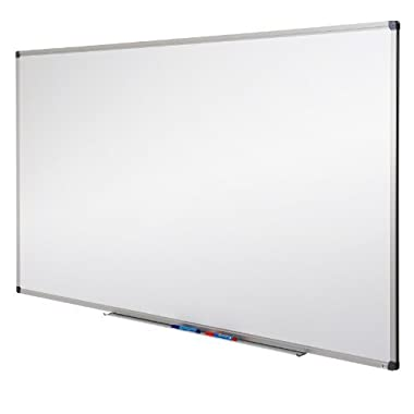 Master of Boards Drywipe Magnetic Whiteboard - 44 x 32 - Inch