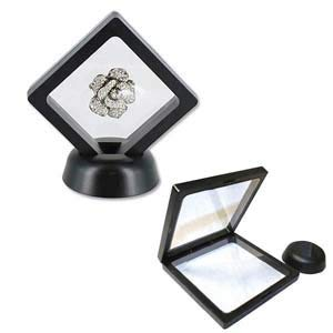 Vidastop 3D Suspension Black Display Box, 2 5/8