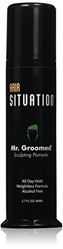 Pomade for Men - Strong Hold Alcohol Free Mr. Groomed by Hair Situation