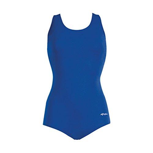 Dolfin Women's Aquashape Solid Conservative Lap Suit Royal 20 (Conservative Lap Suit)