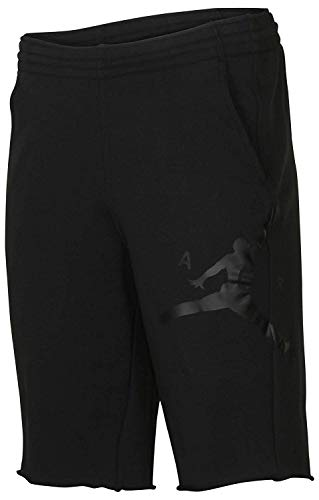 NIKE Jordan Men's Retro 11 Legacy Casual Shorts-Black-XL