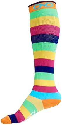 Kompression Socken (1 Paar) für Männer & Frauen Von Infinity - Beste für Running, Krankenschwestern, tibiakantensyndrom, Flight Travel, & Mutterschaft Schwangerschaft - Boost Athletic Ausdauer und Wiederherstellung