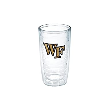 Tervis Wake Forest Emblem Individual Tumbler, 16 oz, Clear