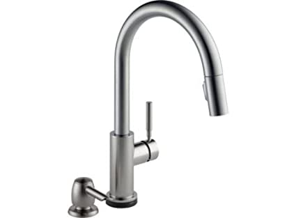 Charmant Delta Trask 19933t Spsd Dst Touch Kitchen Faucet