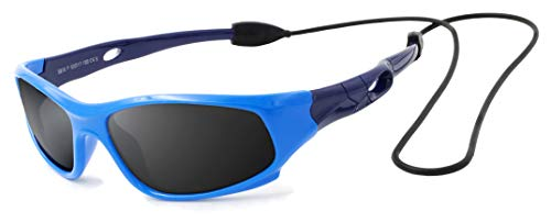 VATTER TR90 Unbreakable Polarized Sport Sunglasses For Kids Boys Girls Youth ()