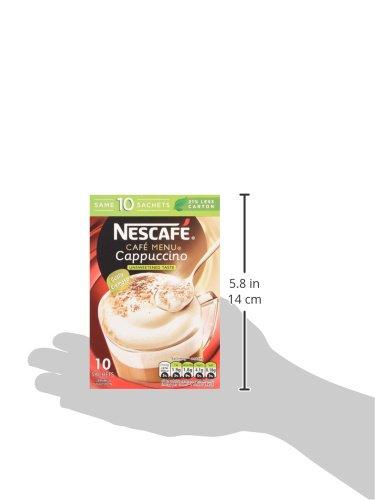 Nescafé - Cafe Menu - Cappuccino - Unsweetened - 142g